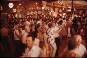 Polka Dancing at the Gibbon Ballroom at Gibbon, Minnesota
