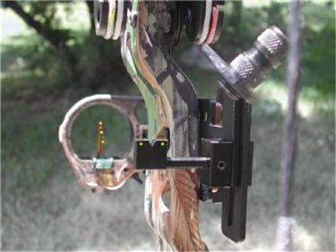 Sighting Pins on a Bow