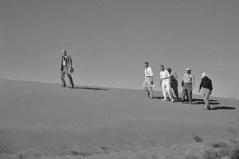 Drought committee visits sand dunes near Dalhart, Texas
