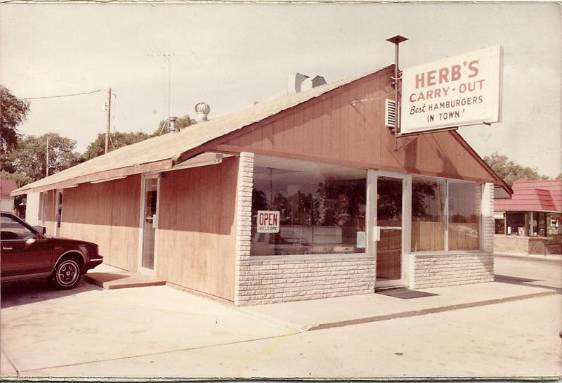 Vintage Herb's Carry Out on Kansas Avenue in Garden City, KS