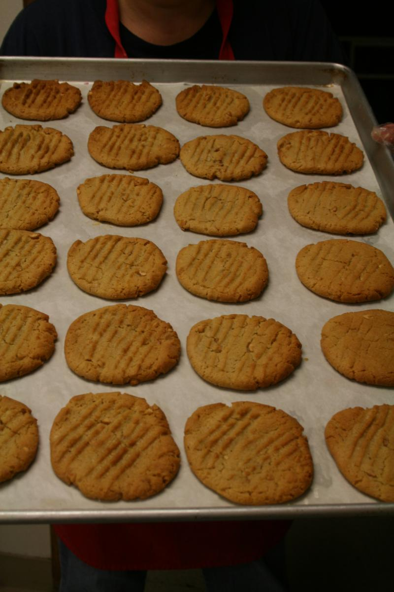 Gary's Famous Peanut Butter Cookies