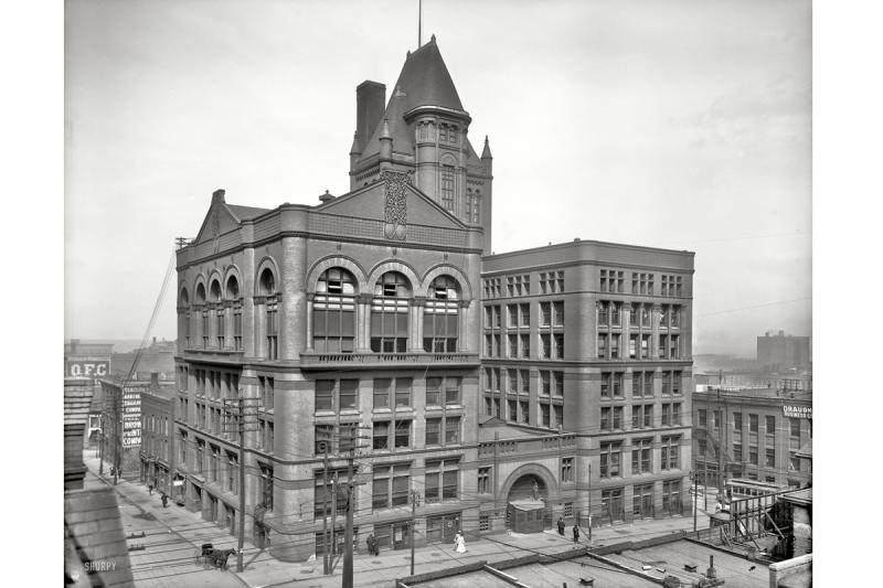 Kansas City Board of Trade Building, 1906