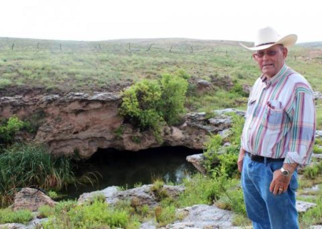 In his 80 years, Nathan Pike has seen water levels drop.