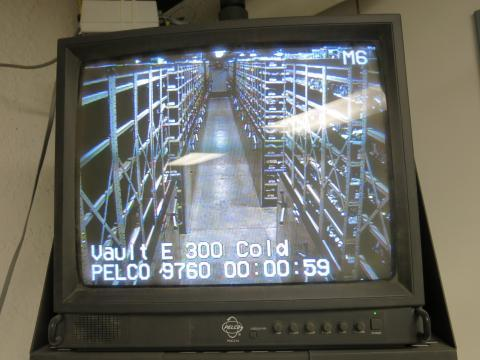 Camera surveillance is a big part of the facility's security strategy. Few places in the seed vault are not under the watchful eye of a camera.