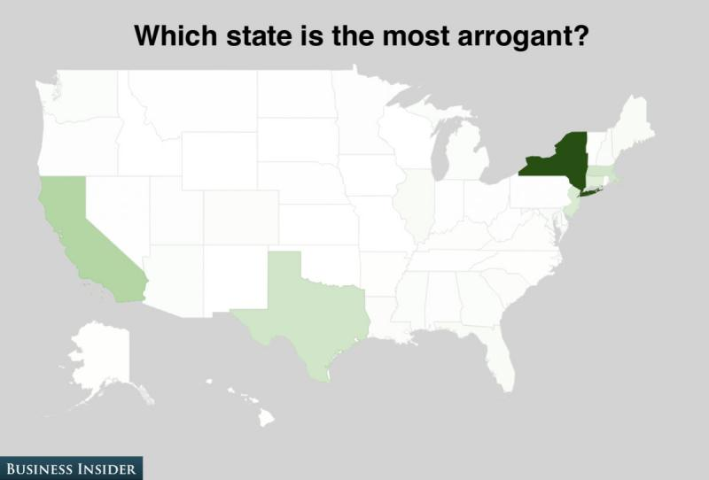 The darkest colored state had the highest number of votes, the whitest colored states had next to none.