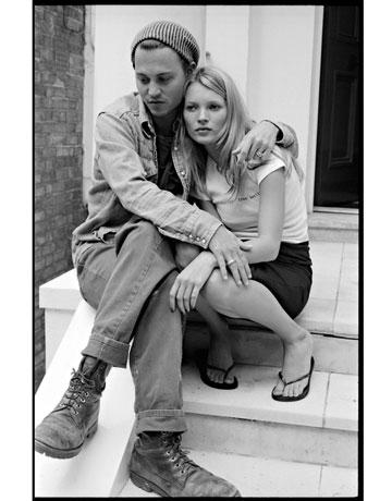 johnny depp/kate moss