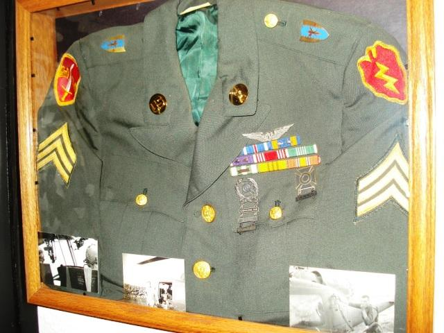 Uniform Shadow Box (the uniform still fits)
