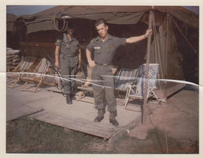 Larry Large, Vietnam 1965