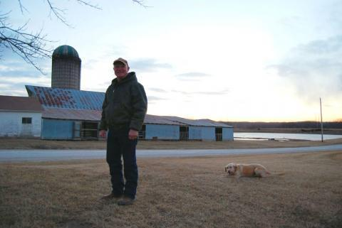 Donnie Davidson decided to shut down his dairy in November after a roof on one of his barns collapsed from the winter's snow. The roof would have cost $20,000 to rebuild. To keep going he also would have had to hire help and upgrade a silo for $25,000.