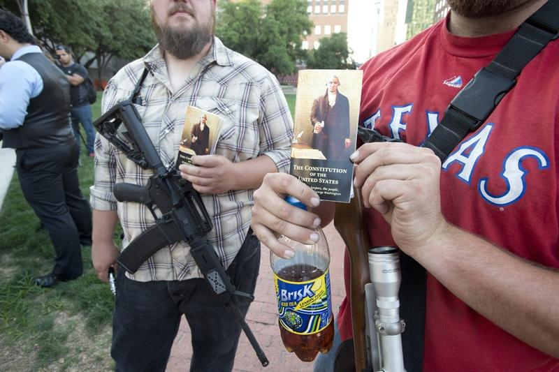 Map Provides A Window Into US Gun Violence HPPR - Us open carry map