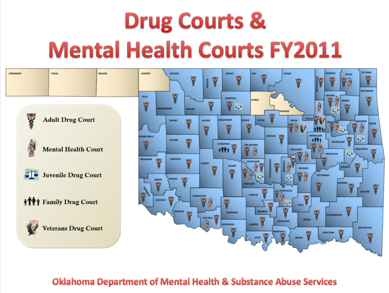 mental health court Mental health courts, modeled after drug courts was first implemented in anchorage, alaska and broward county, florida the america's law enforcement and mental health project act (2000) funded 23 demonstration mental health court projects in 2002 and 14 in 2003.