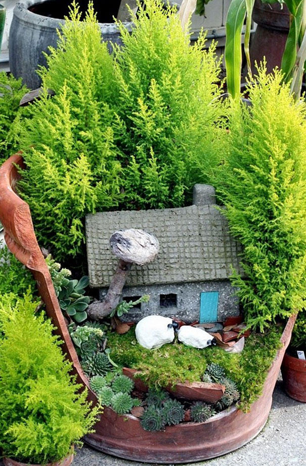 The small world of fairy gardens HPPR