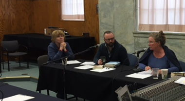 Panelists: Lynne Hewes, Jonathan Baker and Jane Holwerda