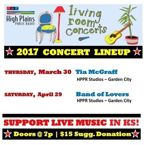 2017 Living Room Concerts Garden City Ks Hppr