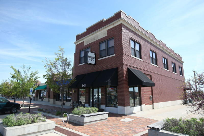 The business incubator building was one of the first new downtown buildings built in the city of Greensburg after the 2007 EF-5 tornado destroyed nearly 95 percent of the town.