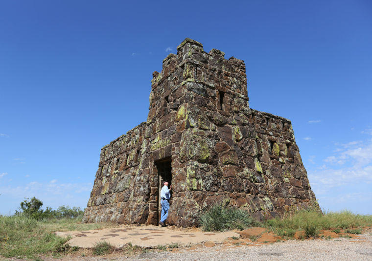 Coronado Heights, built in 1936 thru the Works Progress Administration program, is in need of renovation. The Smoky Valley Historical Association has received some grant money for the repairs, but is working to raise additional money for the renovation.