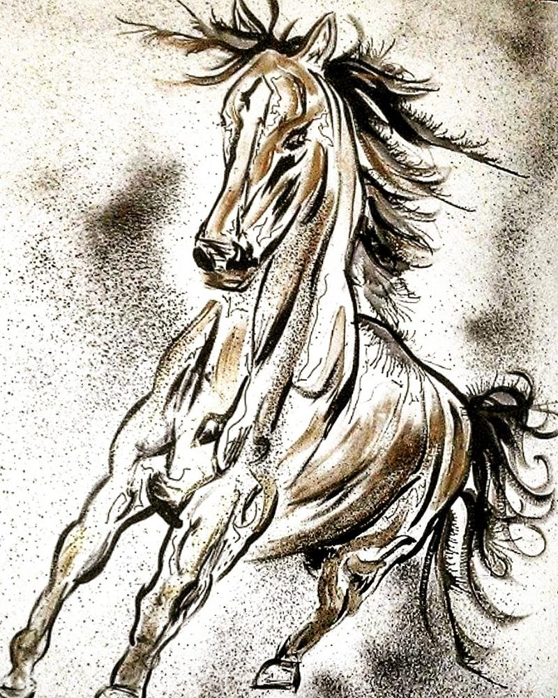 A horse, of course.