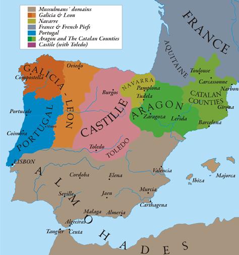 CastileLeon Map