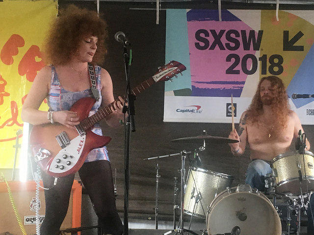 White Mystery at SXSW