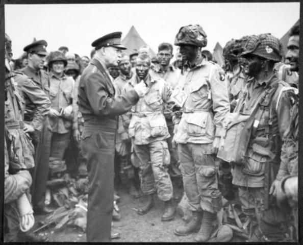 dwight eisenhower signals beginning of d day on june 51994 The allied invasion of normandy on june 6, 1944: what did gen dwight d  eisenhower say when he gave the final order to launch the attack  and his staff  began meeting in early june to choose the final invasion date, a day.