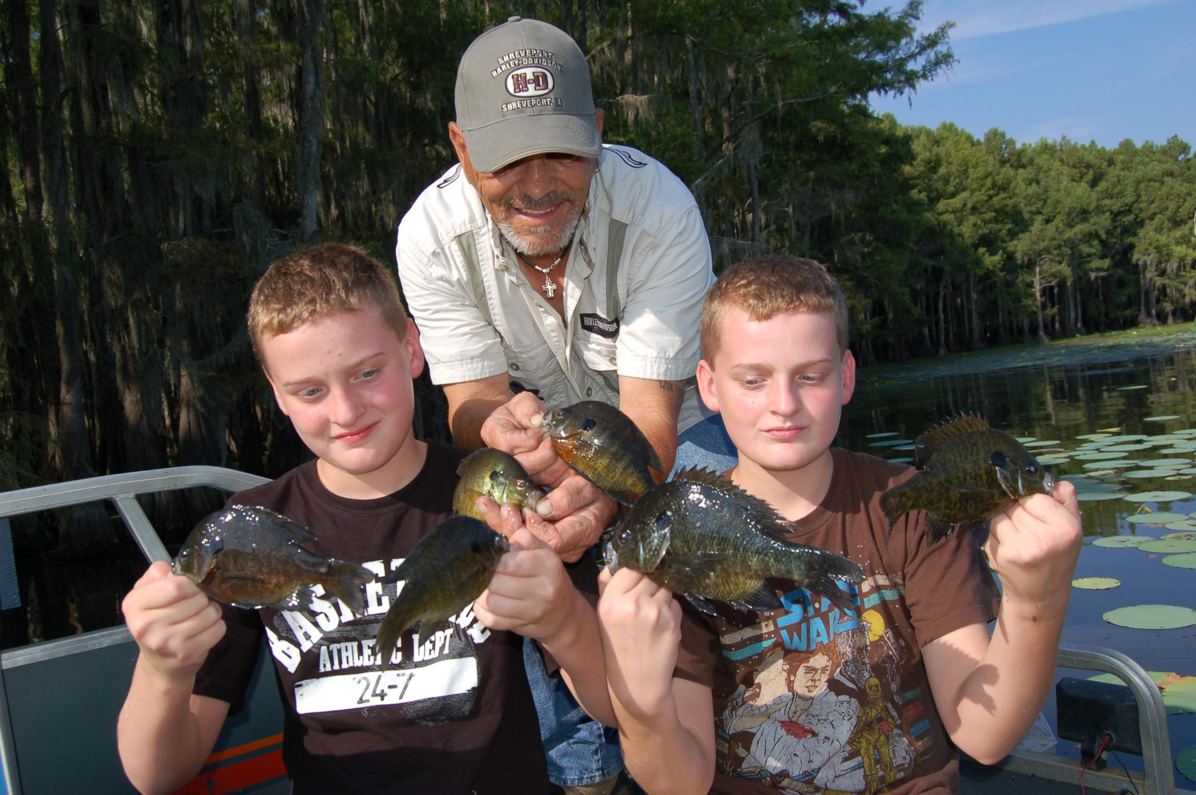 Fishing on caddo lake is one for your bucket list hppr for Caddo lake fishing report