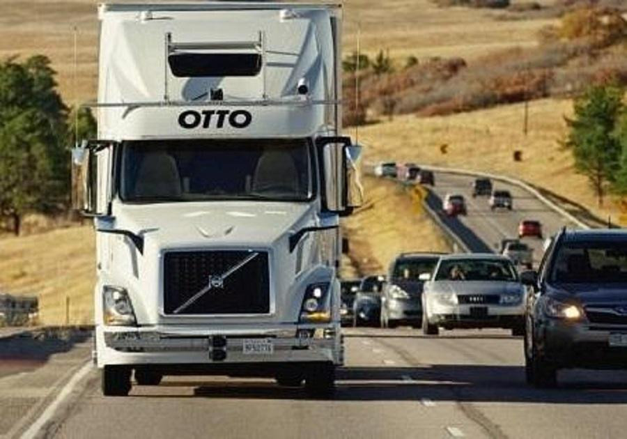 a self driving semi truck just a few months ago transported beer from fort collins to colorado springs colorado setting a guinness world record in the