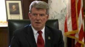 Idaho Governor Butch Otter in his office last year.