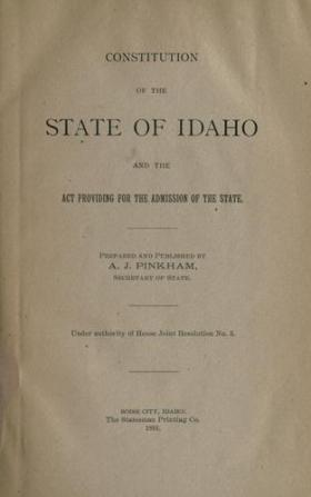 Idaho Constitution