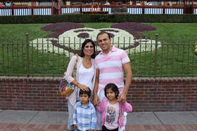 Pastor Saeed Abedini and family.
