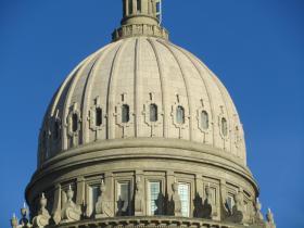 Idaho Statehouse dome