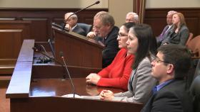 Mining Industry leaders speaking to Idaho lawmakers on February 11, 2013.