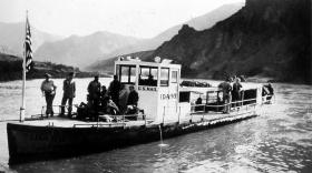 Mail Boat on the Snake River