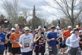 Almost 2,500 runners will compete at the Race to Robie Creek this weekend.