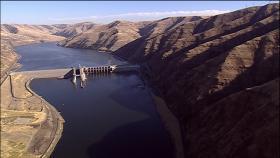 Washington's Lower Granite Dam on the Snake River.
