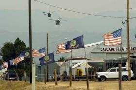 Amber Alert, Idaho Air National Guard, Cascade,