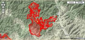 The Beaver Creek fire crew by 25,000 acres from Friday to Saturday morning.