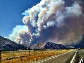 Beaver Creek fire.
