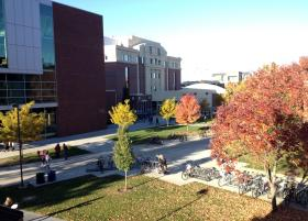 Boise State University campus.