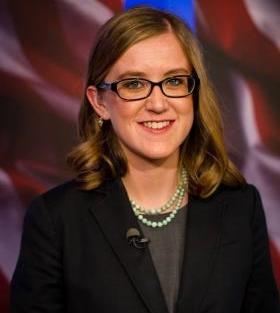 """Melissa Davlin is co-host of Idaho Public Television's """"Idaho Reports."""""""