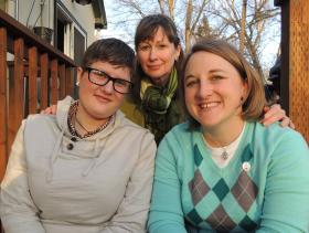 Boise lawyer Deborah Ferguson has teamed up with the National Center for Lesbian Rights to represent Rachael Robertson, Amber Beierle and three other couples suing the state of Idaho.