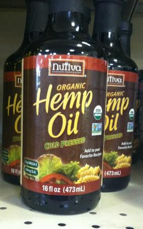 The Careys argue that the oil they want access to is no more dangerous than this hemp oil on the shelf at Boise's Co-op.