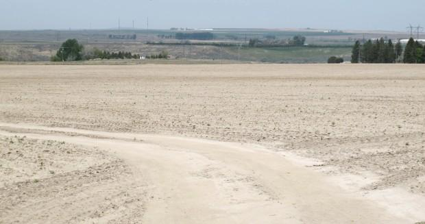 In mid-May, high winds and the lack of rain had left some Power County fields dry and dusty.