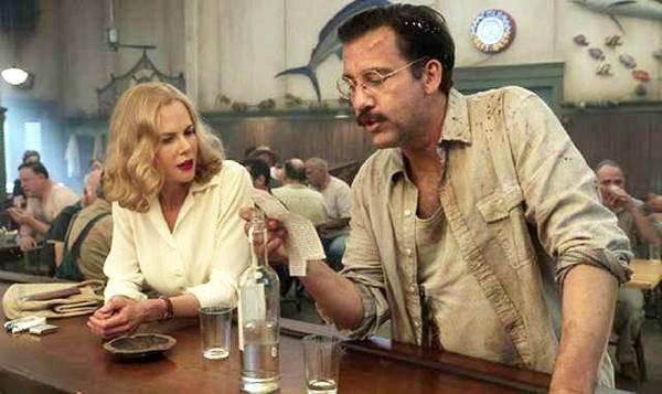"Nicole Kidman as Martha Gellhorn and Clive Owen as Ernest Hemingway in HBO's ""Hemingway and Gellhorn."""