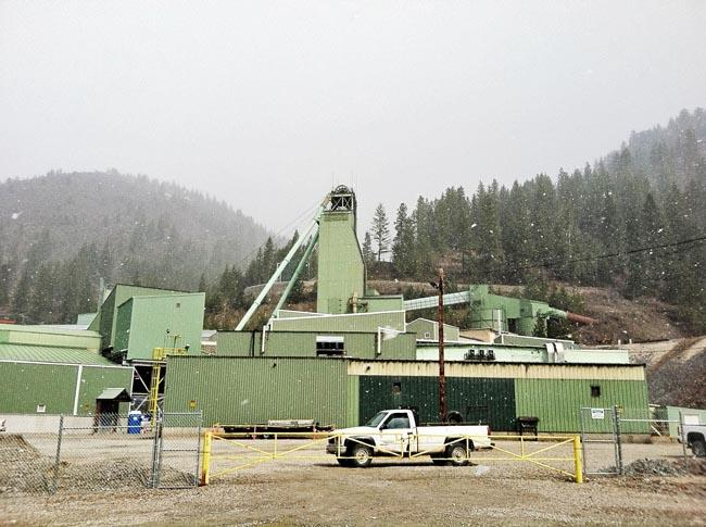 The Lucky Friday Mine in Mullan, Idaho
