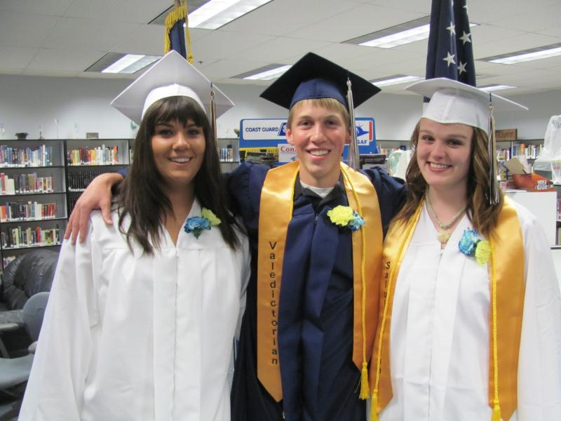 Mallory Nelson, Ian Woodruff, and Laura Coleman