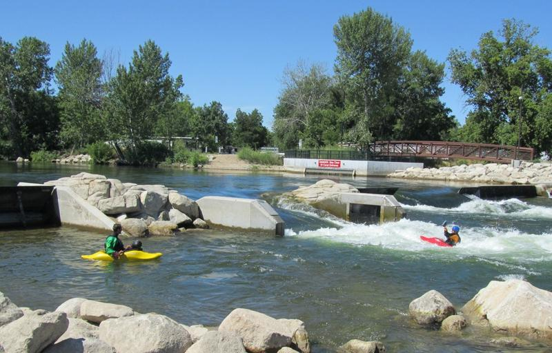Whitewater Park Surf Raft Greenbelt Kayak