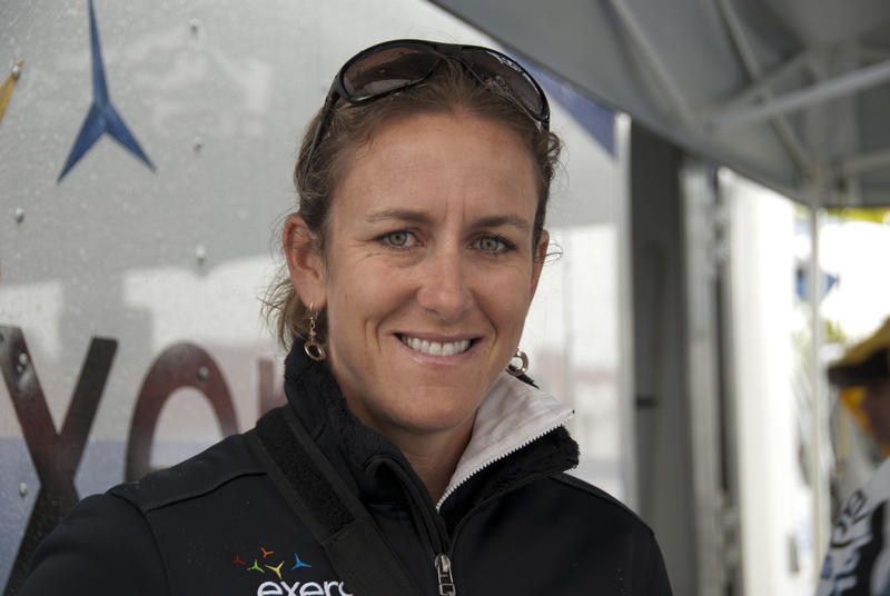 Kristin Armstrong won gold in the 2008 Olympics in China in the time trial. Now, she'll get a chance to go for another medal in London this summer.