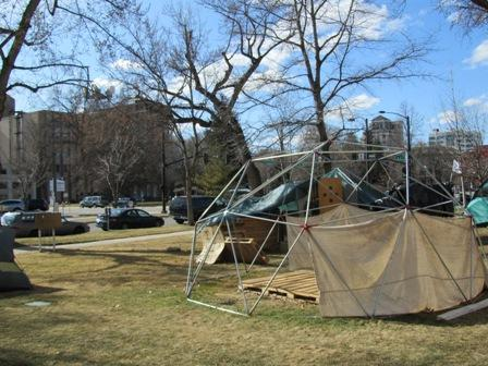 Occupy Boise encampment