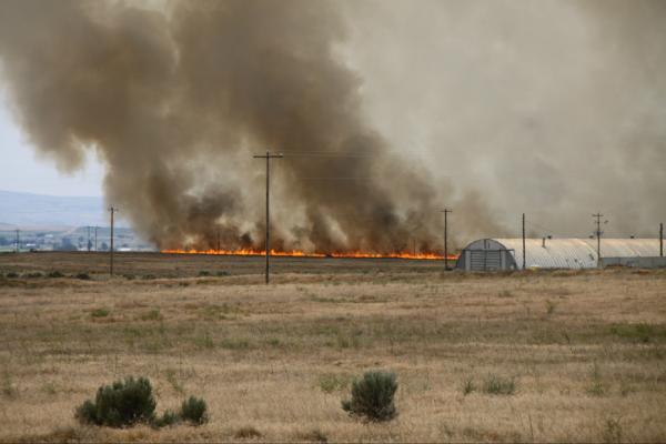 Saturday's Cole Fire Near Kuna