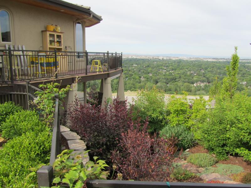 Marlayna Elledge's garden boasts a magnificent view of Boise
